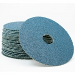 Sia 4819 Siaron 7 Inch Zirconia Fiber Discs Grits 24 - 80