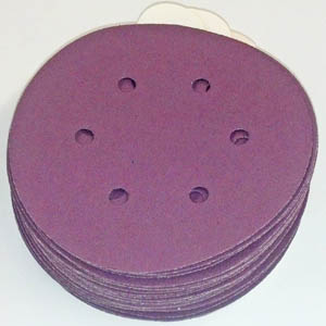 1950 PSA Tab Discs 6 Inch 6 Hole Coarse Grits 40 and 60 by Sia
