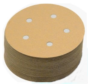 run PSA Tab 5 Inch 5 Hole Discs Grits 100 - 400 by Sia