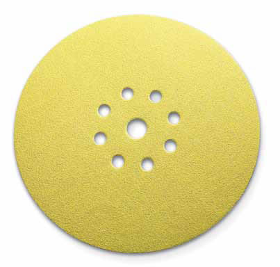 1960 rexx Cut Hook Loop Discs 5 Inch 9 Hole 150 Grit by Sia