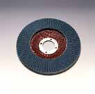 2824 Flat Hubbed Plastic flap Disc 7 Inch by Sia