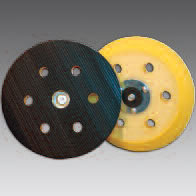 Hook and Loop Backup Pads 6 Inch 7 Hole by Sia