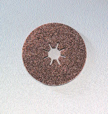4515 Star Hole Ceramic Fiber Discs 4 1 2 Inch by Sia