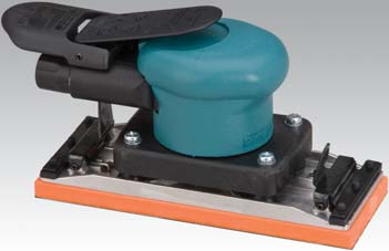 58507 2-3 4 x 7 Inch Dynabug II Orbital Sander with Clips by Dynabrade
